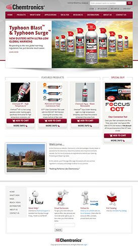 Chemtronics Site Preview