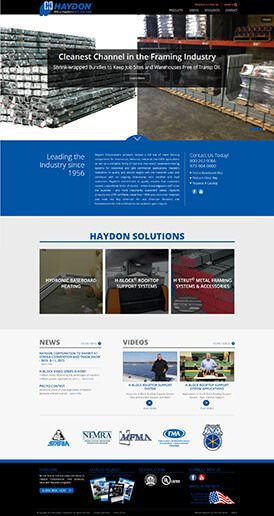 Haydon Corp Site Preview
