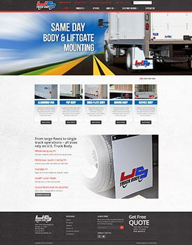 Truck Body Site Preview