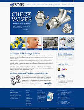 VNE Stainless Site Preview